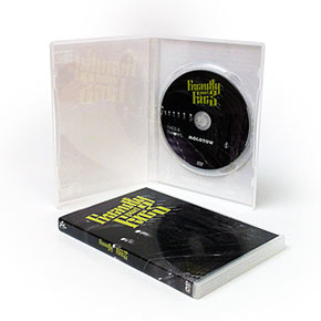 DVD i plastfodral med inlay (standard DVD-box)